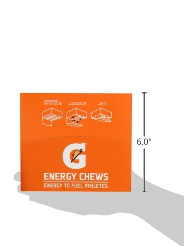 Gatorade Prime Energy Chews, Cool Blue (6 Count of 0.166 oz Each), 1oz, Pack of 16