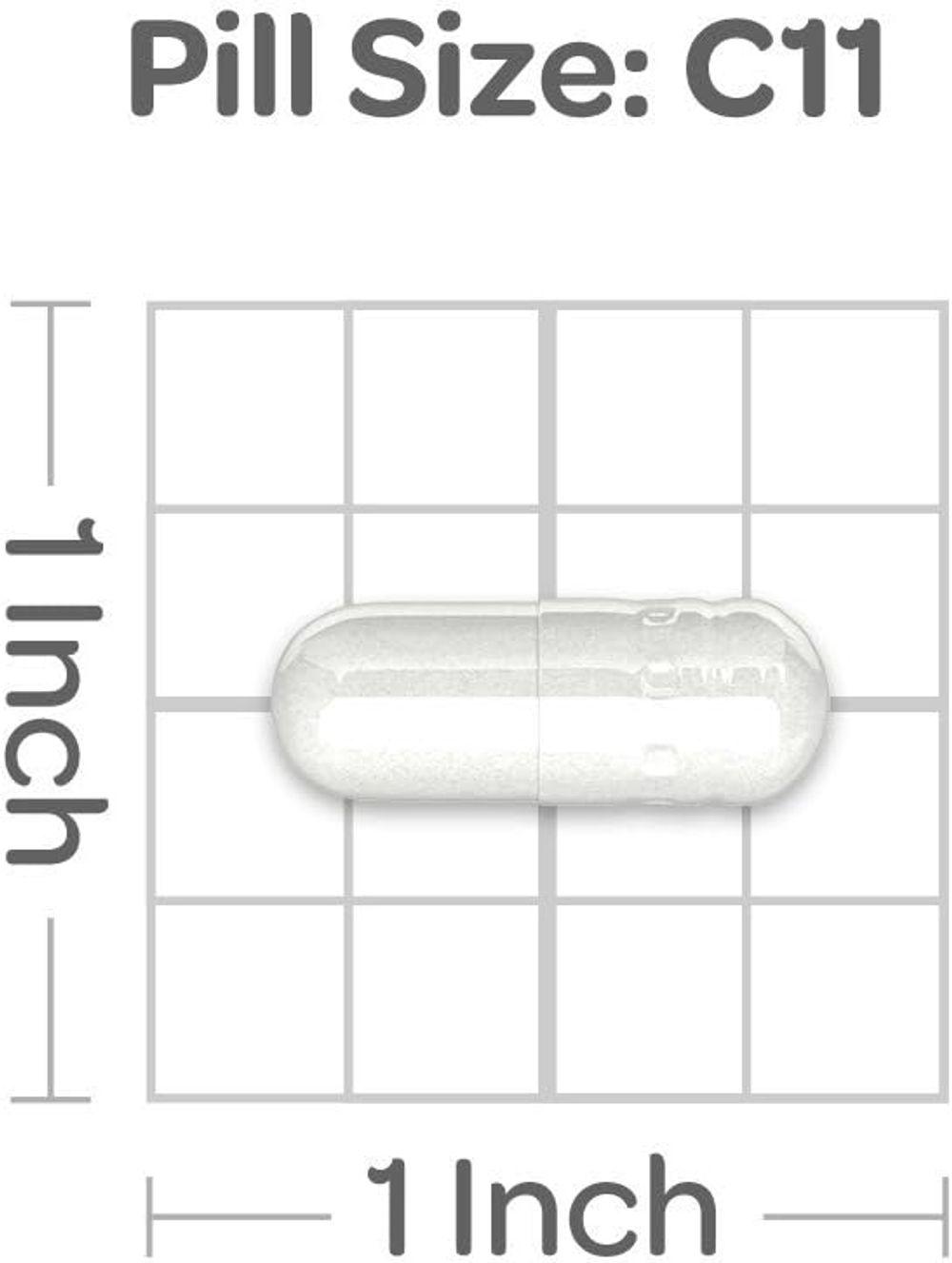 Puritans Pride Black Cherry 1000 mg Capsules, 100 Count