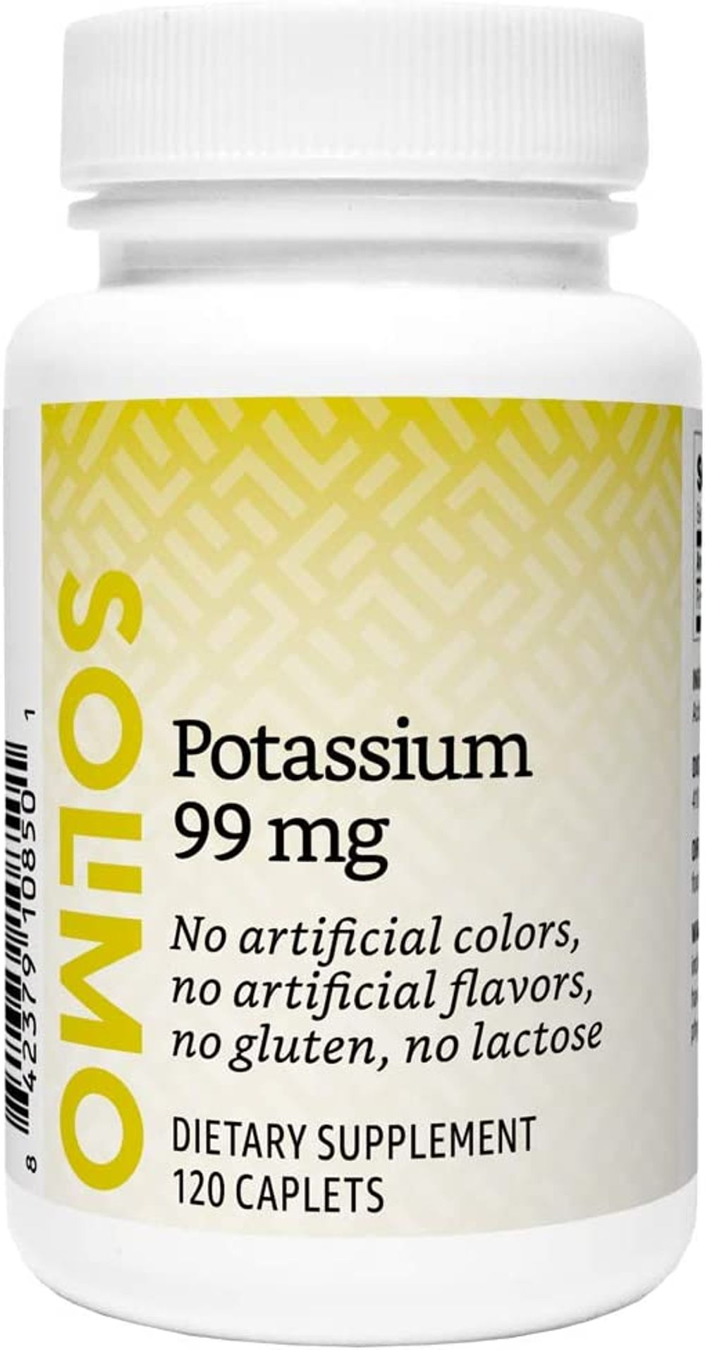 Brand - Solimo Potassium 99 mg, 120 Caplets, Four Month Supply (Packaging May Vary) & Solimo Vitamin D3 125 mcg (5000 IU), 150 Softgels, Five Month Supply (Packaging May Vary)