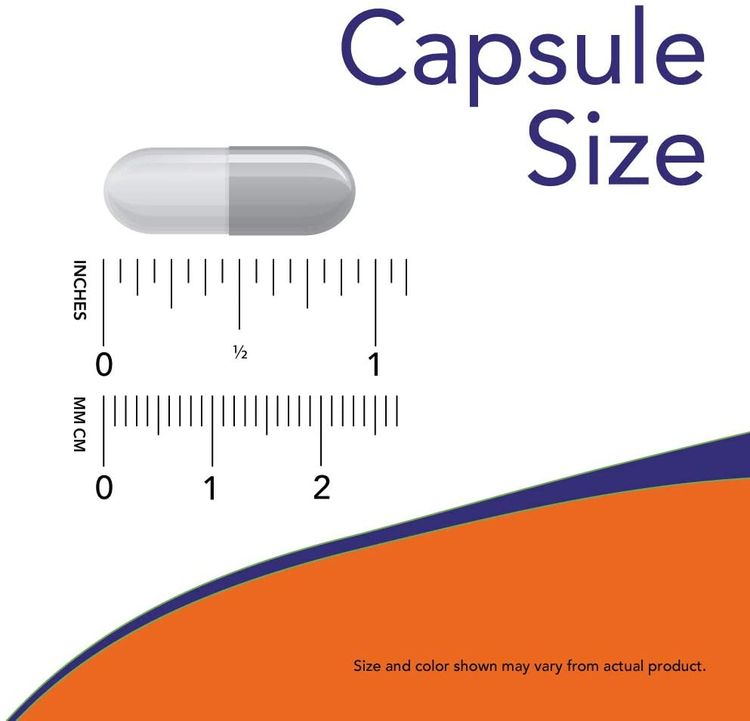 Now Supplements, GABA (Gamma-Aminobutyric Acid)500 mg + B-6, 100 Count, Veg Capsules