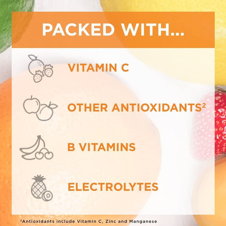 Emergen-C, Vitamin C 1000mg Pwdr Sup Orange, 30 Ct