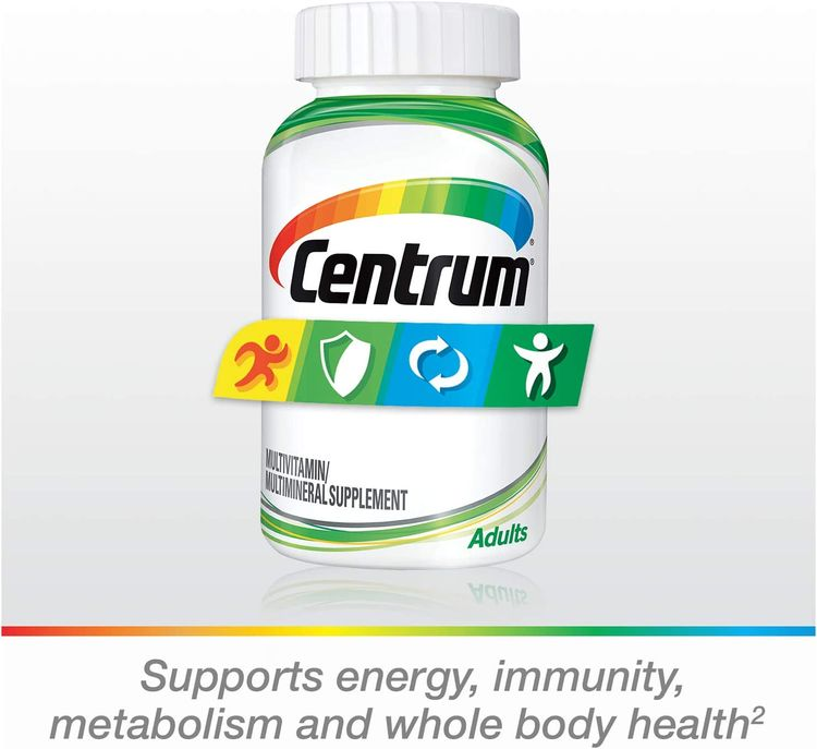 Centrum Adult Multivitamin/Multimineral Supplement with Antioxidants, Zinc and B Vitamins - 200 Count