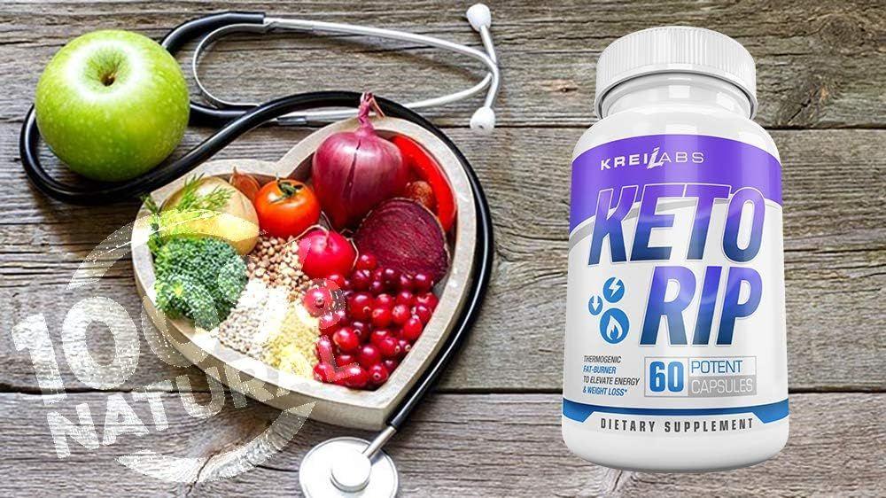 Kreil Labs Advanced Keto Weight Loss Fat Burner - Ketogenic Engery Supplement - Burn Fat Instead ...