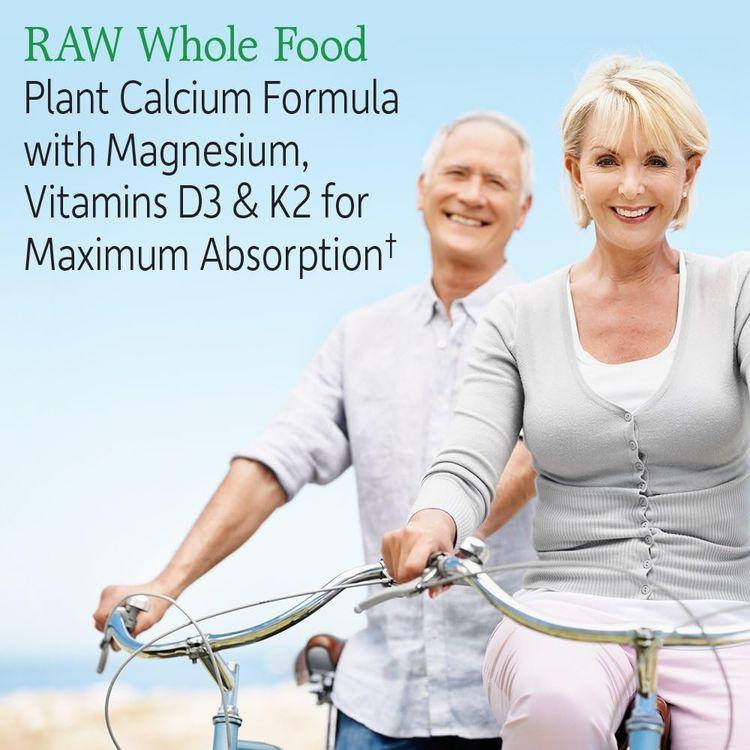 Garden of Life Raw Calcium Supplement - Vitamin Code Whole Food Calcium Vitamin for Bone Health, Vegetarian, 60 Capsules