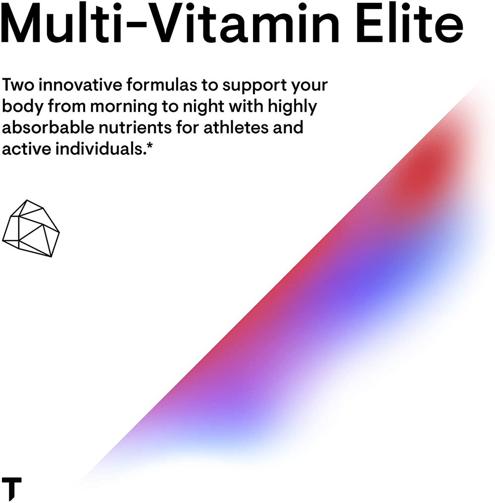 Thorne Research - Multi-Vitamin Elite - A.M. and P.M. Formula to Support a High-Performance Nutrition Program - 180 Capsules