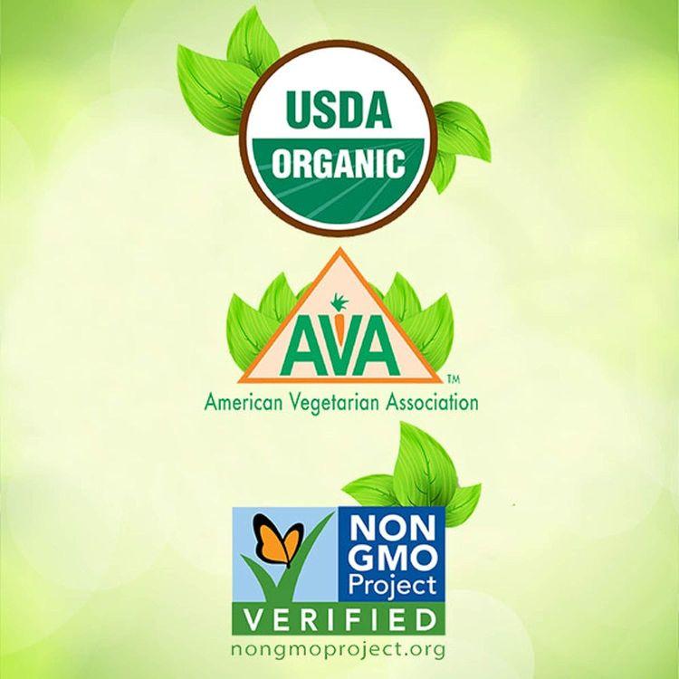 Organic D3 Gummy Vitamin, 90 Count - Non-GMO, Gluten-Free, Dairy-Free, No Gelatin, No HFCS