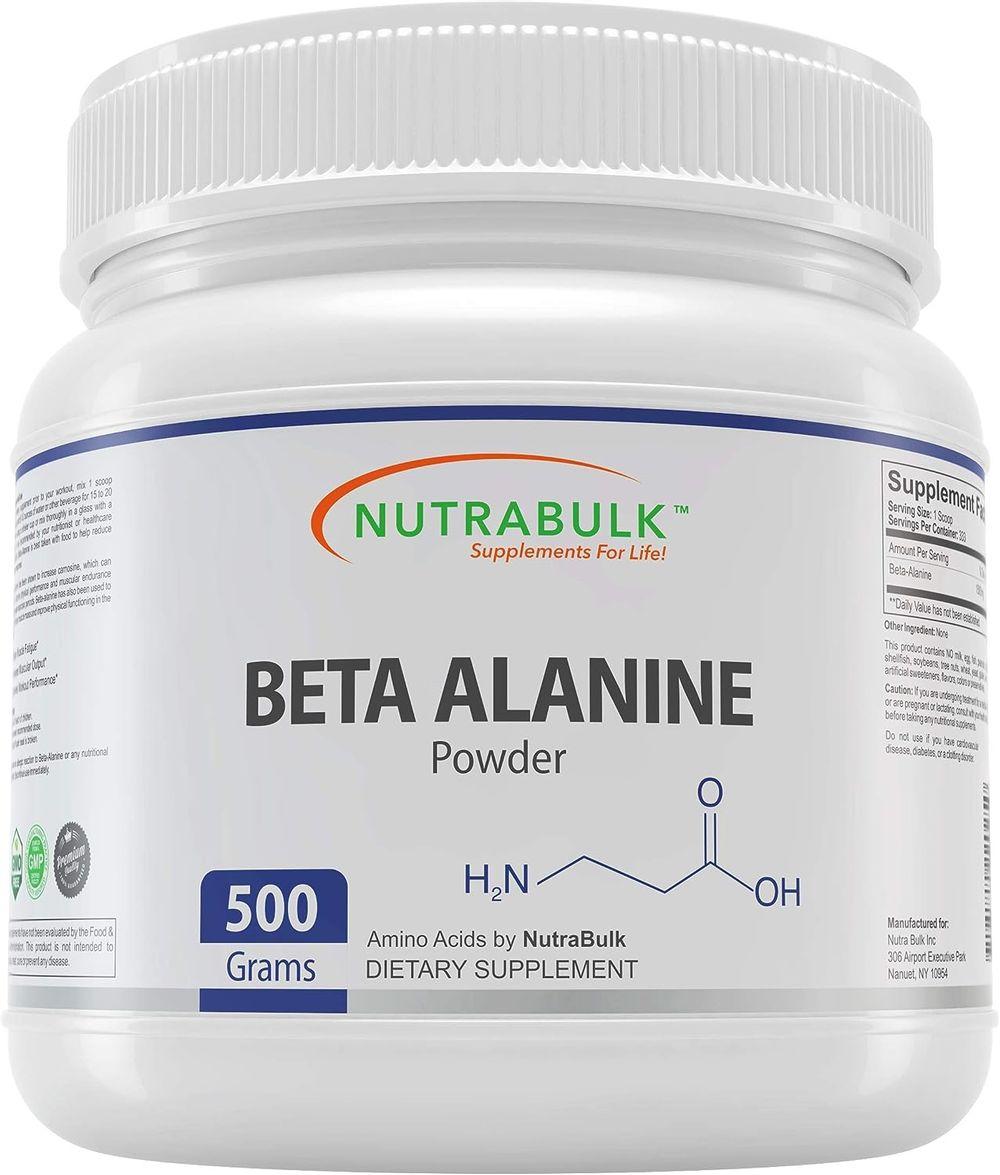 NutraBulk Beta Alanine Powder – 250 Grams