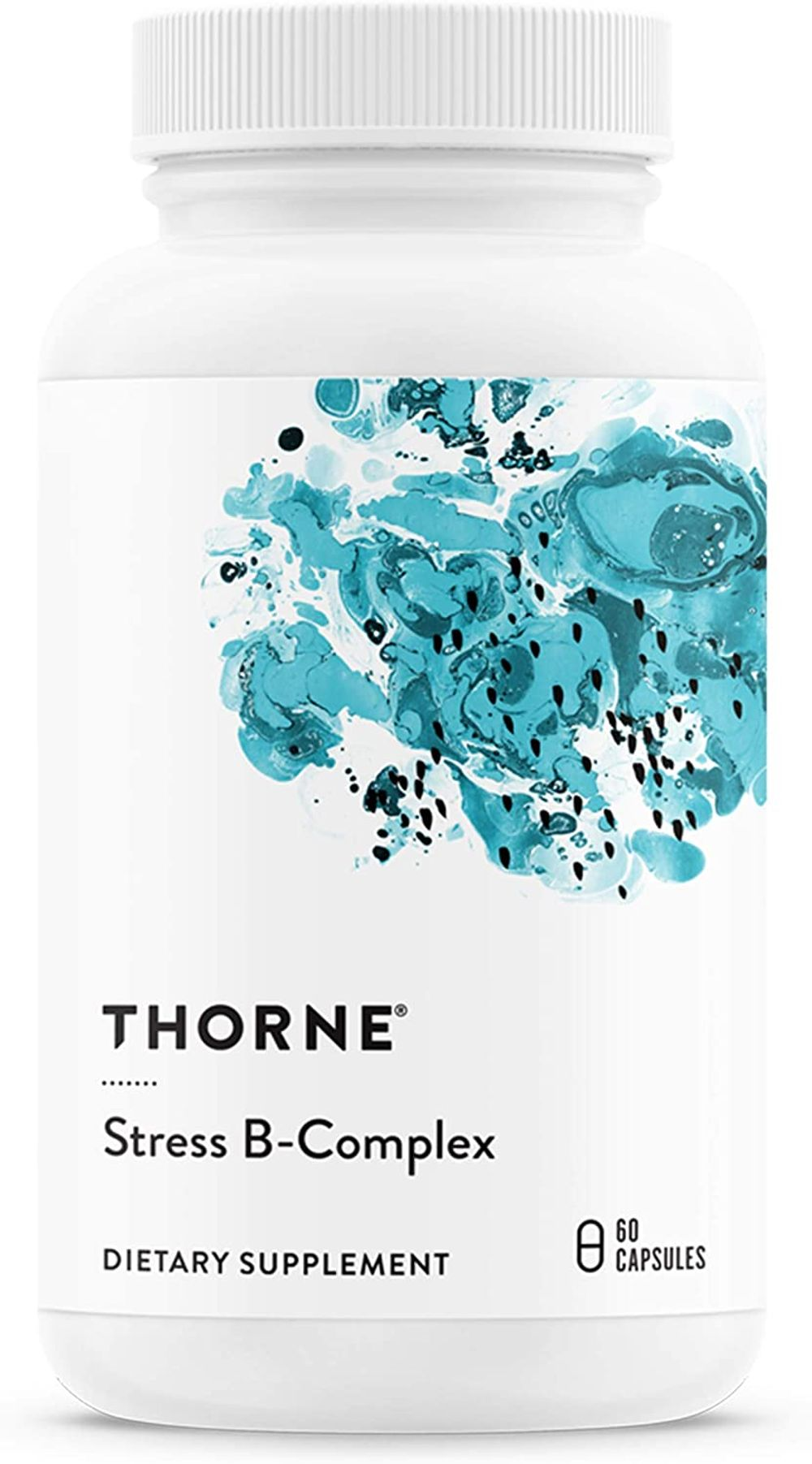Thorne Research - Stress B-Complex - Vitamin B Complex for Stress Support - 60 Capsules