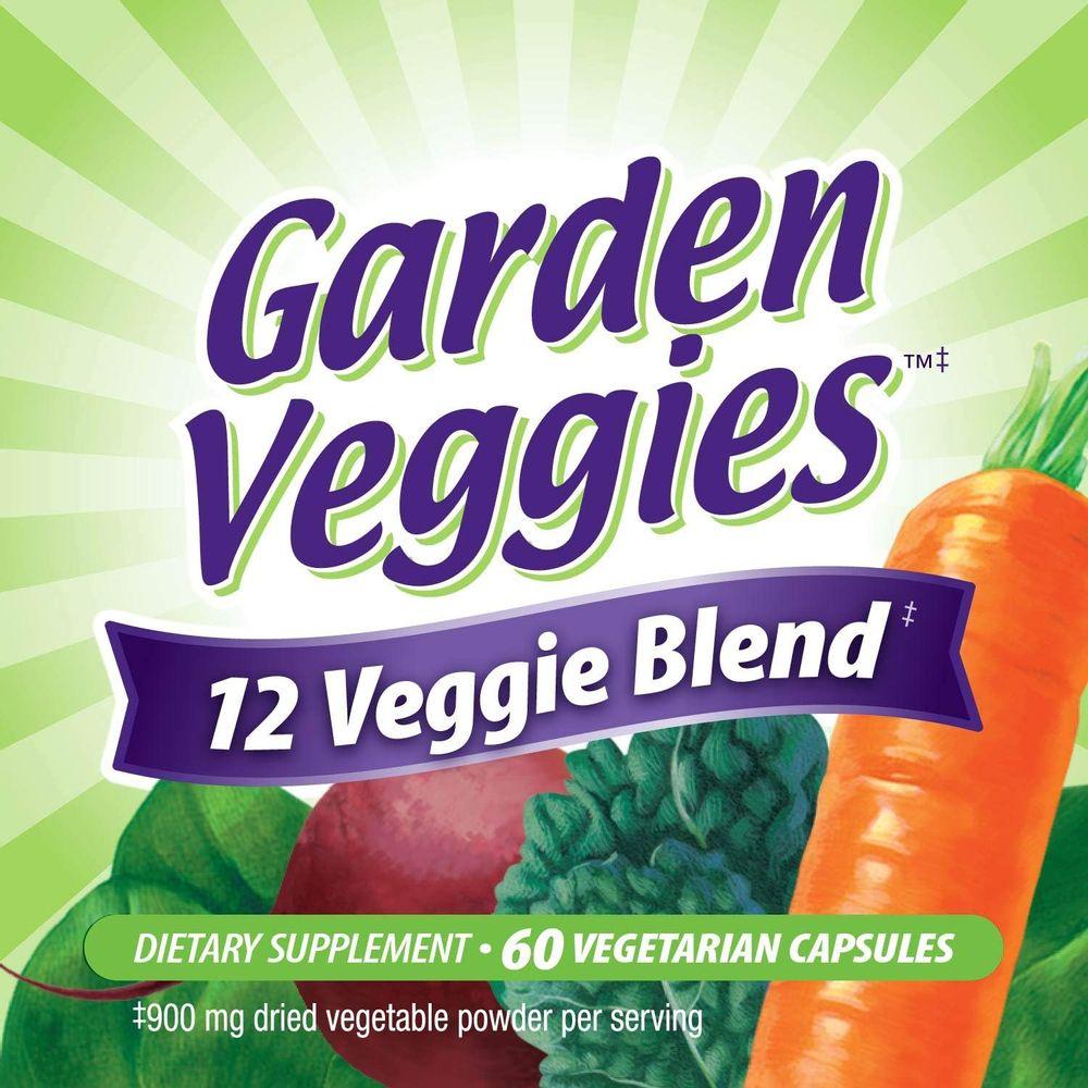 Nature's Way Garden Veggies, 60 Vcaps
