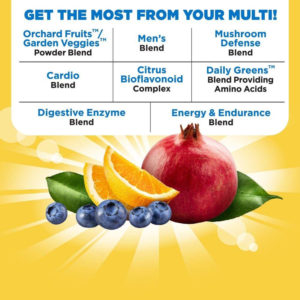Nature's Way Alive! Once Daily Men's Multivitamin, Ultra Potency, Food-Based Blends (291mgper serving), 60 Tablets