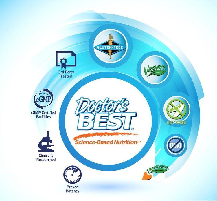 Doctor's Best Benfotiamine, Non-GMO, Vegan, Gluten Free, Soy Free, Helps Maintain Blood Sugar Levels, 300 mg, 60 Veggie Caps (DRB-00270)