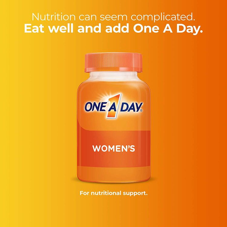 Multivitamin for Women by One a Day, Vitamins for Women with Vitamin C, Vitamin D, B6, B12, Biotin, Calcium, & more, 200 Count