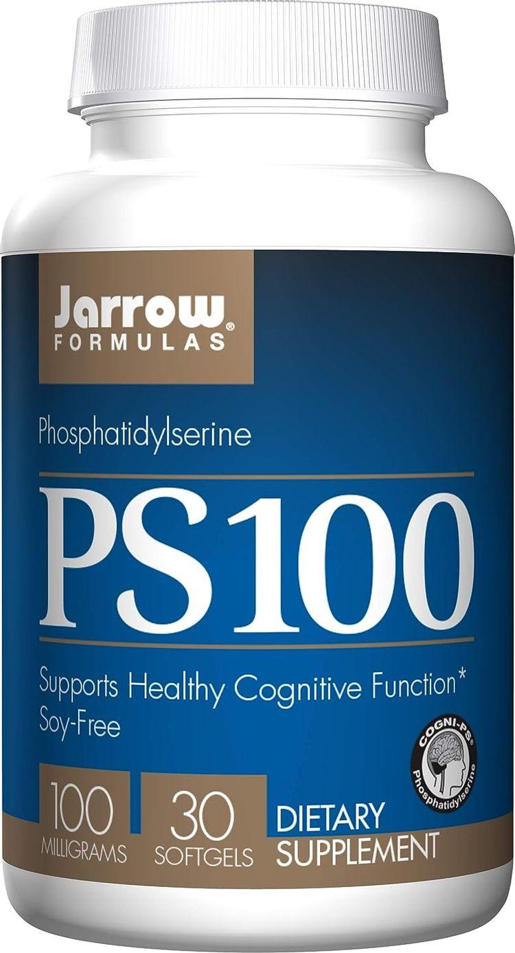 Jarrow Formulas Ps-100, Brain and Memory Support, 100 mg, 30 Softgels
