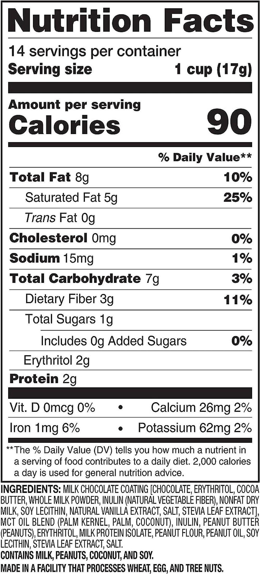 SlimFast Keto Fat Bomb Shot - Salted Caramel Crème - 10 Fl Oz - 10 Count - Pantry Friendly