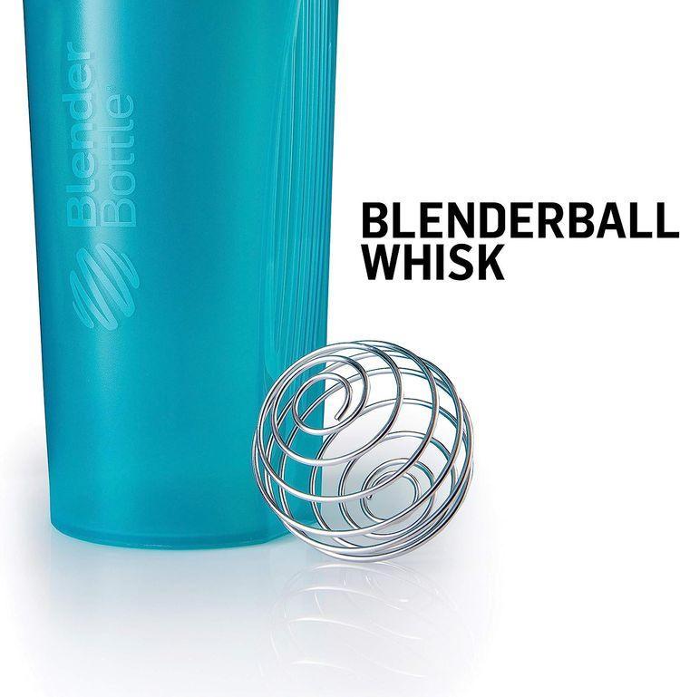 BlenderBottle Classic Loop Top Shaker Bottle, 20oz, Black