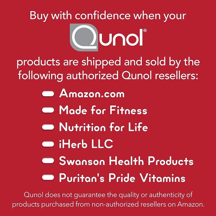 Qunol Ultra CoQ10 100mg, 3x Better Absorption, Patented Water and Fat Soluble Natural Supplement Form of Coenzyme Q10, Antioxidant for Heart Health, 30 Count Softgels
