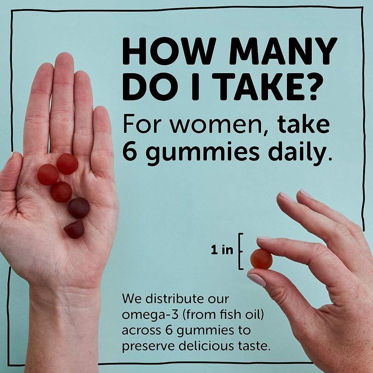 SmartyPants Women's Formula Daily Gummy Vitamins: Gluten Free, Multivitamin & Omega 3 Fish Oil (Dha/Epa), Methyl B12, vitamin D3, Vitamin B6, 120 Count (20 Day Supply) - Packaging May Vary