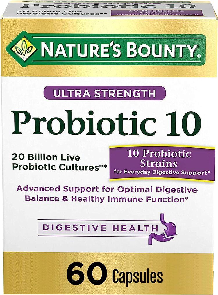 Nature's Bounty Ultra Probiotic 10