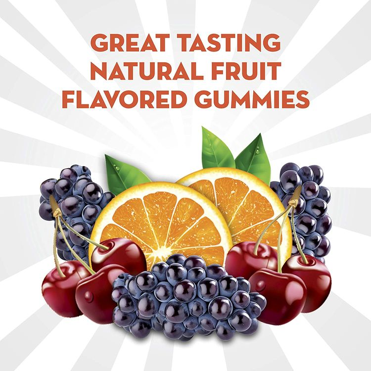 Align DualBiotic Prebiotic + Probiotic Supplement for Adult Men and Women, 60 Count, Digestive Support Gummies in Natural Fruit Flavors