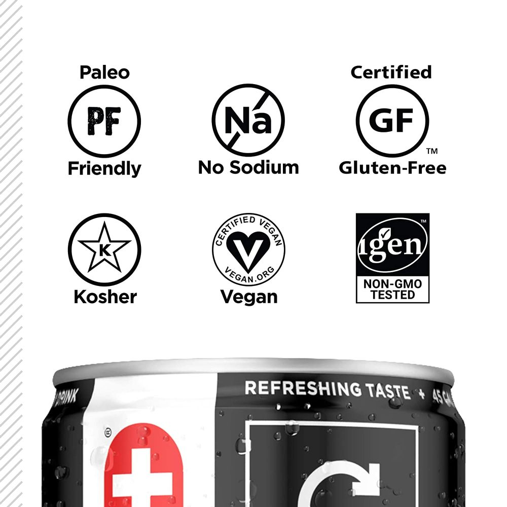 FITAID Recovery Blend | No Artificial Flavors or Sweeteners | Contains BCAAs, Glucosamine, Omega-3s, Green Tea | 100% Clean, Paleo Friendly, Vegan & Gluten-Free | No Sodium | 12 Fl Oz (Pack of 12)