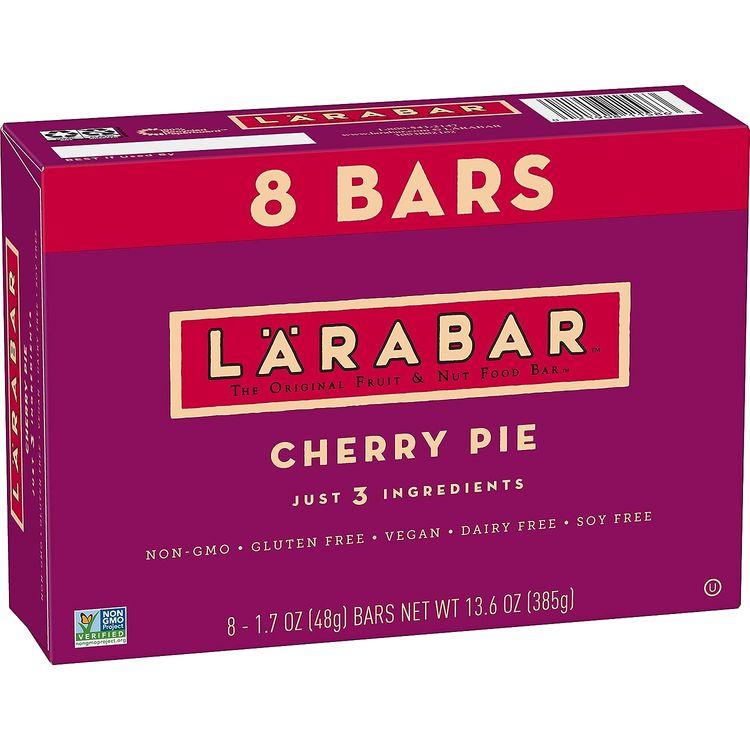 Larabar, Cherry Pie, Gluten Free Bar, Vegan (8 Bars)