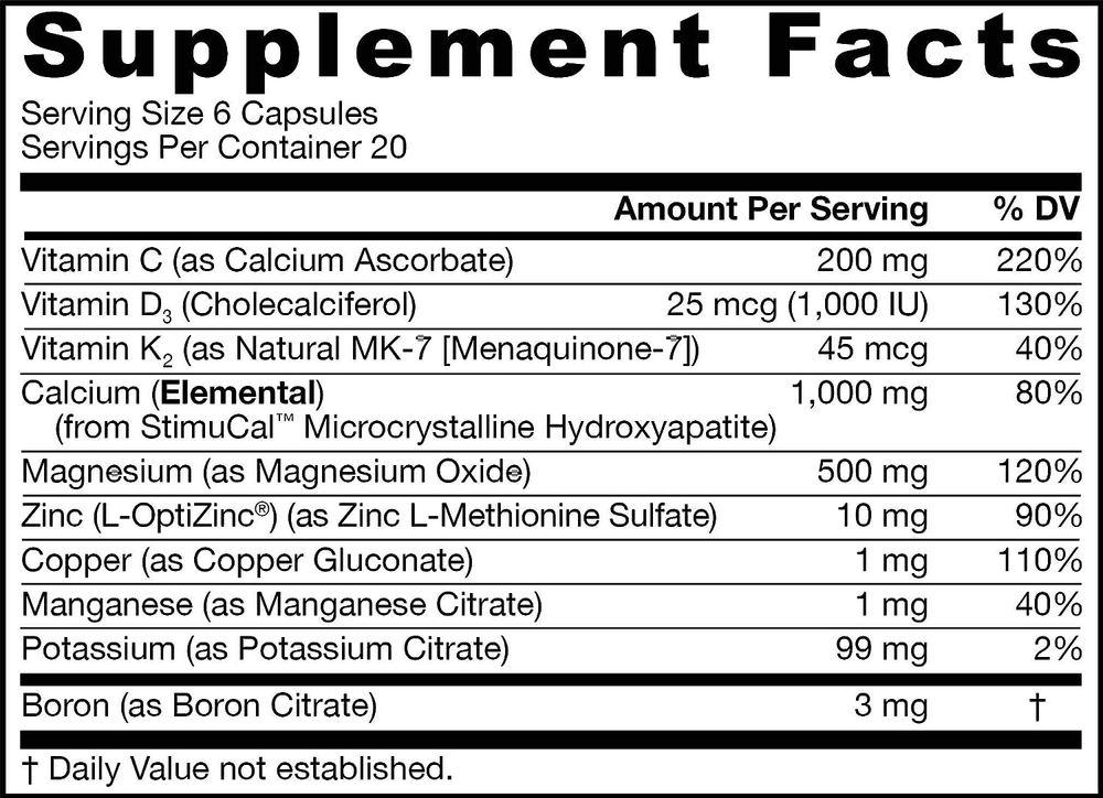 Jarrow Formulas Bone-Up Powder Drink Mix, Promotes Bone Density, 396 Grams