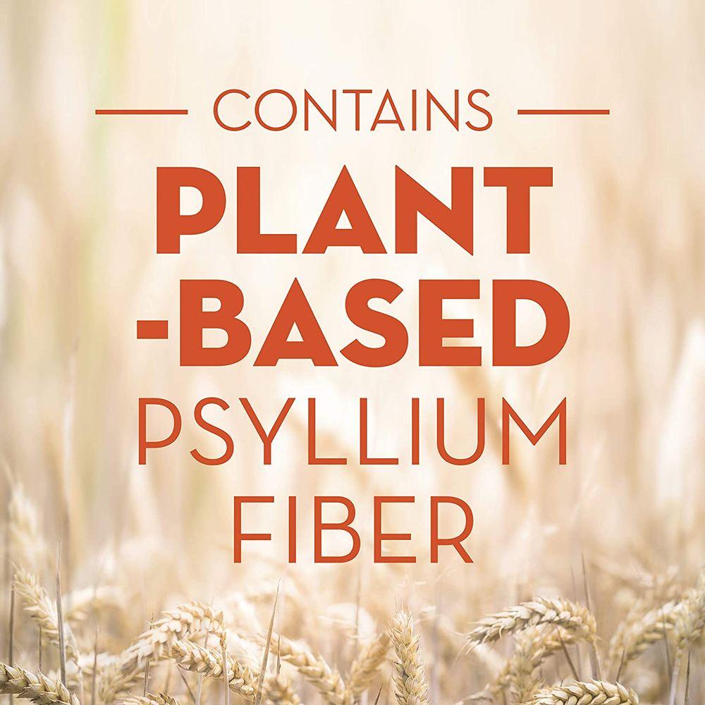 Metamucil Fiber, 4-in-1 Psyllium Fiber Supplement, Sugar-Free Powder Single-Serve Packets, Orange Flavored Drink, 2 Boxes of 30 Packets