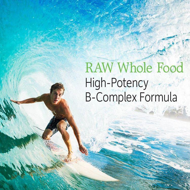 Garden of Life Vitamin B Complex - Vitamin Code Raw B Complex - 60 Vegan Capsules, High Potency B Complex Vitamins for Energy & Metabolism with B6, Folate & B12 as Methylcobalamin plus Probiotics
