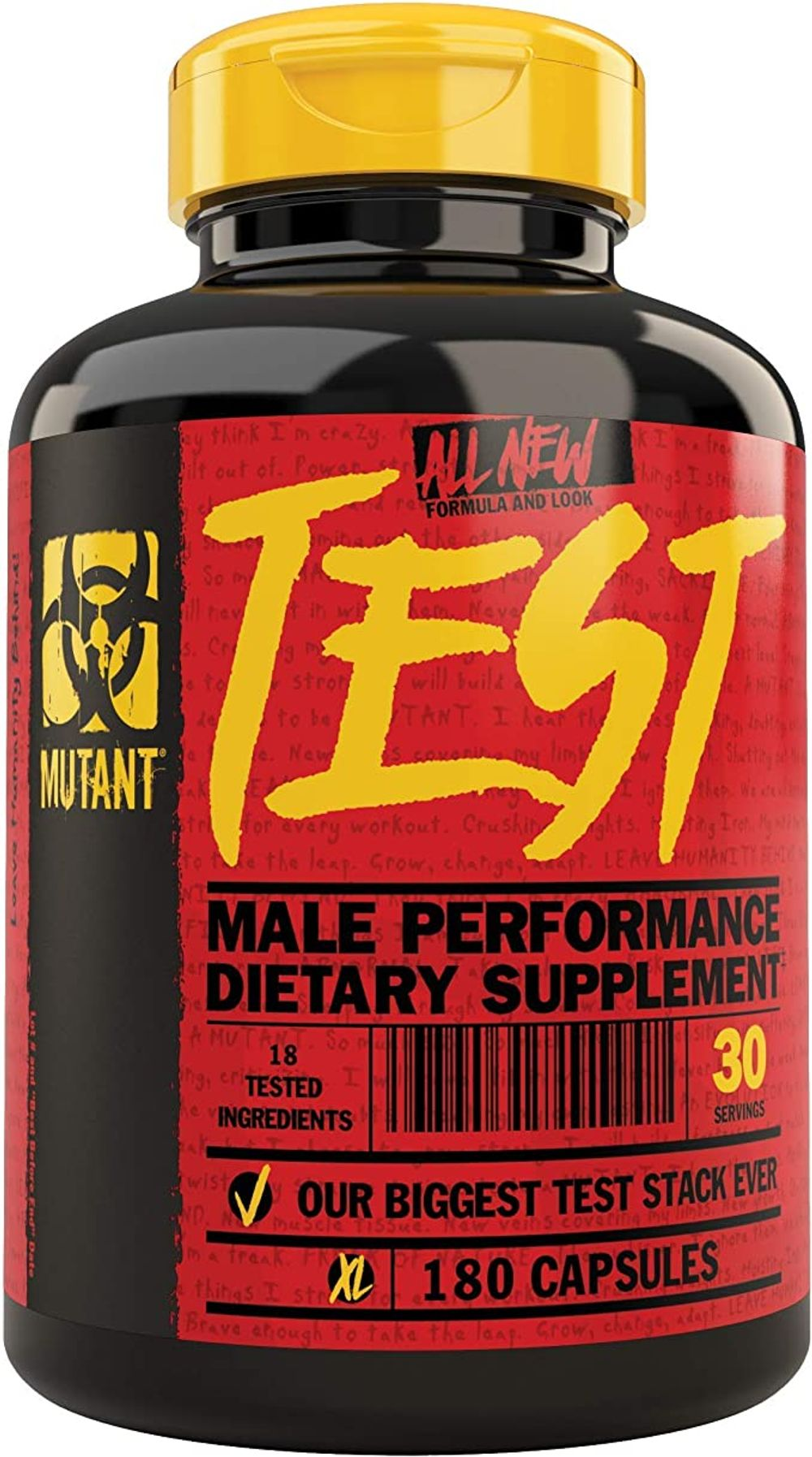 Mutant Test Natural Testosterone Booster with a Powerful Anabolic Formula Developed to Boost
