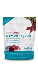 SuperBeets Memory + Focus