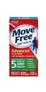 Move FreeGlucosamine Chondroitin Plus MSM