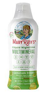 sleep vitamins multimineral organic vegan vitamin mineral lemonade