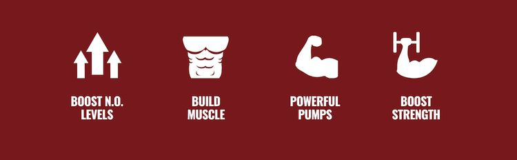 Boost N.O. Levels, Build Muscle, Powerful Pumps, and Boost Strength