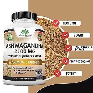 2100 mg ashwagandha