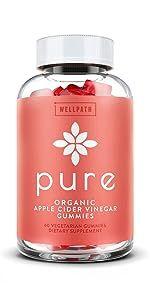 PURE Organic Apple Cider Vinegar Gummies