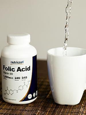 Nutricost Folic Acid