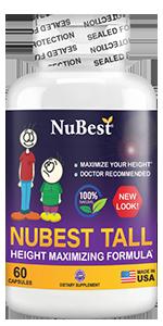 enhancement growth height supplement pill growth hormone hgh calcium children teenagers