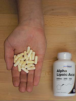 Alpha Lipoic Acid Capsules Held