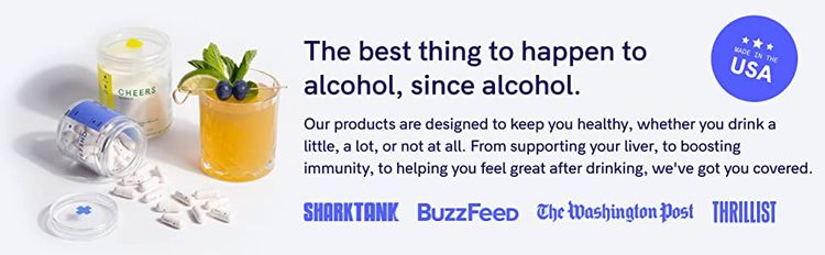 Cheers supports your liver