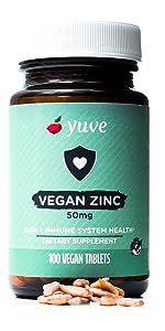 vegan zinc lozenges