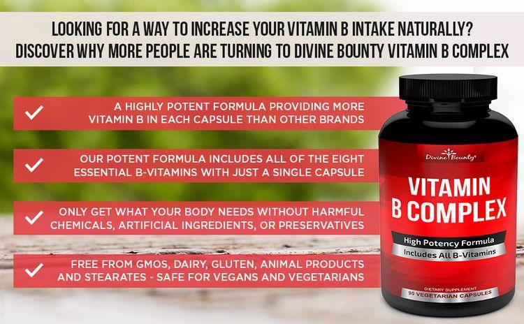 Divine Bounty B Vitamin Complex