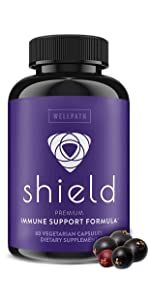 SHIELD 5-In-1 Immune Support Supplement