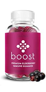 BOOST Premium Elderberry Gummies
