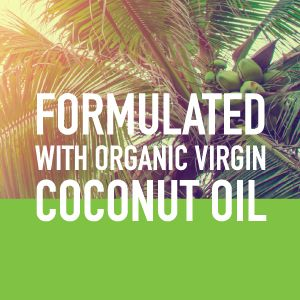 made with coconut oil