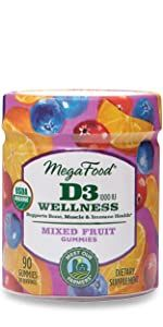 Vitamin D3 Wellness Gummy