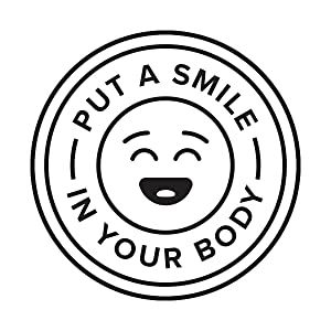 Put a Smile in your body graphic