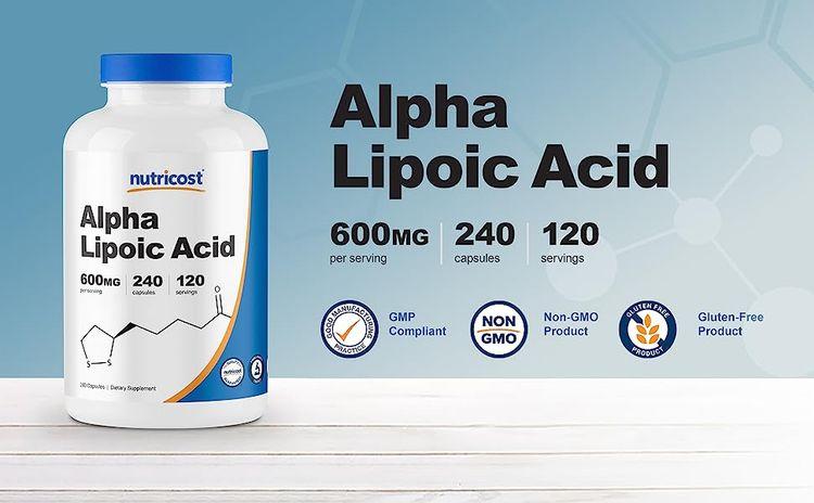 alpha lipoic acid capsules banner