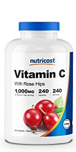 Vitamin C with Rose Hips (This Product)