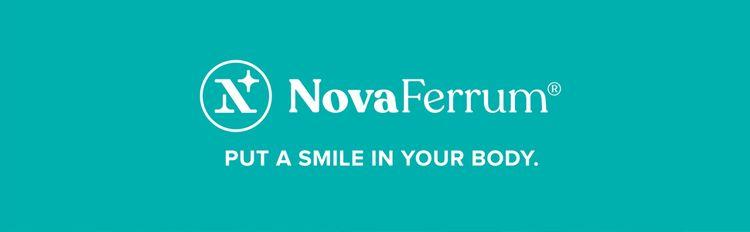 NovaFerrum iron supplements banner