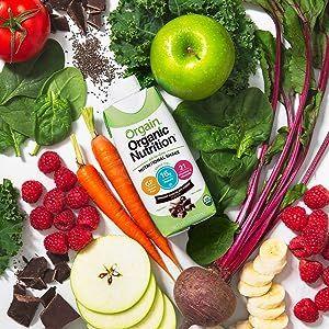 real, clean, organic ingredients